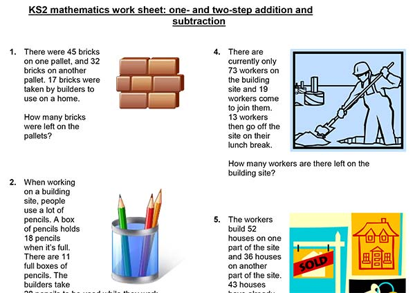 KS2 Mathematics Worksheets
